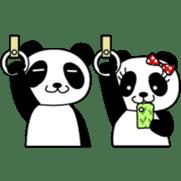 Wake-up Panda sticker #163790
