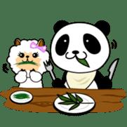 Wake-up Panda sticker #163793