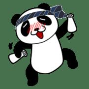 Wake-up Panda sticker #163796