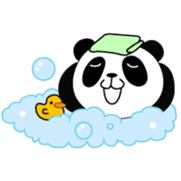 Wake-up Panda sticker #163797