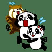 Wake-up Panda sticker #163798