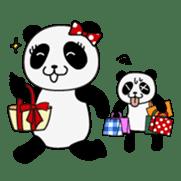 Wake-up Panda sticker #163799