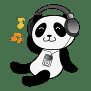 Wake-up Panda sticker #163800
