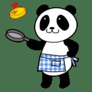 Wake-up Panda sticker #163801