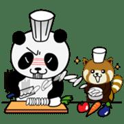 Wake-up Panda sticker #163802