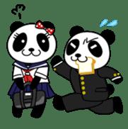 Wake-up Panda sticker #163807