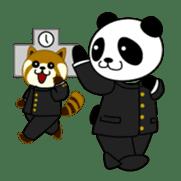 Wake-up Panda sticker #163808