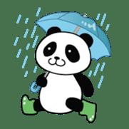 Wake-up Panda sticker #163812