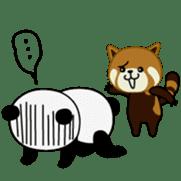 Wake-up Panda sticker #163815