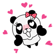 Wake-up Panda sticker #163816