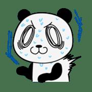 Wake-up Panda sticker #163817
