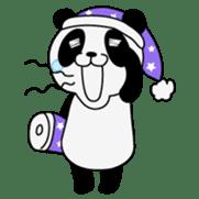 Wake-up Panda sticker #163818
