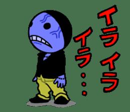 blue ego sticker #164107
