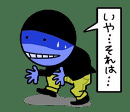 blue ego sticker #164108