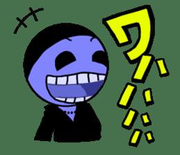 blue ego sticker #164111