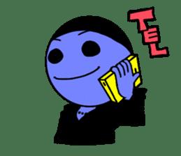 blue ego sticker #164113