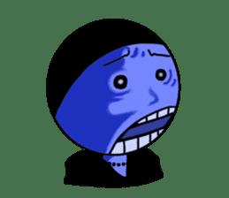 blue ego sticker #164114