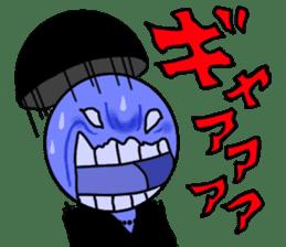 blue ego sticker #164123