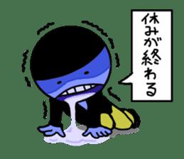 blue ego sticker #164126