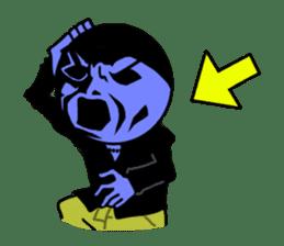 blue ego sticker #164128