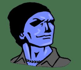 blue ego sticker #164136
