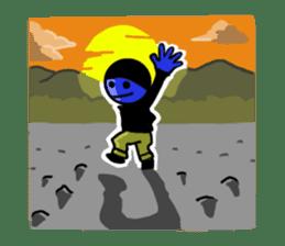 blue ego sticker #164138