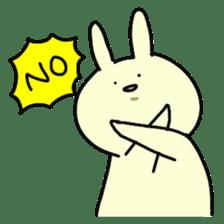 Day-to-day of rabbit sticker #164300