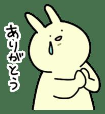 Day-to-day of rabbit sticker #164301