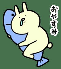 Day-to-day of rabbit sticker #164303