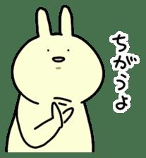 Day-to-day of rabbit sticker #164305