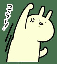 Day-to-day of rabbit sticker #164306