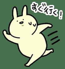 Day-to-day of rabbit sticker #164307