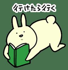 Day-to-day of rabbit sticker #164308