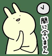 Day-to-day of rabbit sticker #164309