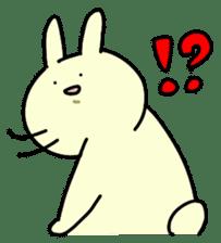 Day-to-day of rabbit sticker #164310