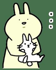 Day-to-day of rabbit sticker #164315