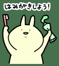 Day-to-day of rabbit sticker #164316