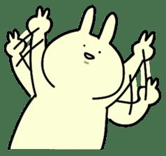 Day-to-day of rabbit sticker #164319