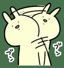 Day-to-day of rabbit sticker #164320