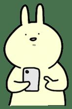 Day-to-day of rabbit sticker #164326