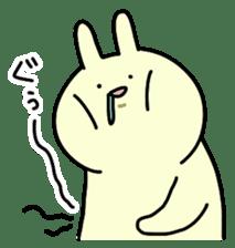 Day-to-day of rabbit sticker #164327