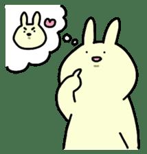 Day-to-day of rabbit sticker #164332