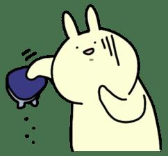Day-to-day of rabbit sticker #164333