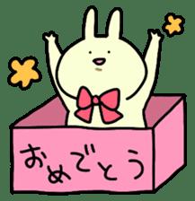 Day-to-day of rabbit sticker #164335