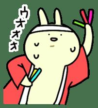 Day-to-day of rabbit sticker #164336