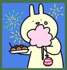 Day-to-day of rabbit sticker #164337