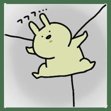 Day-to-day of rabbit sticker #164338