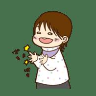 Omochi Stamp sticker #164379