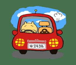 Cat couple sticker #164933