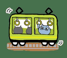 Cat couple sticker #164934